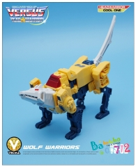 Transformers Mech Fans Toys - Head Warrior - MFT VS-02 Weirdwolf