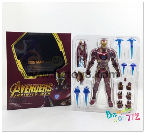 SHF MK50 Ironman Tony Stark Action figure toy ko ordinary version
