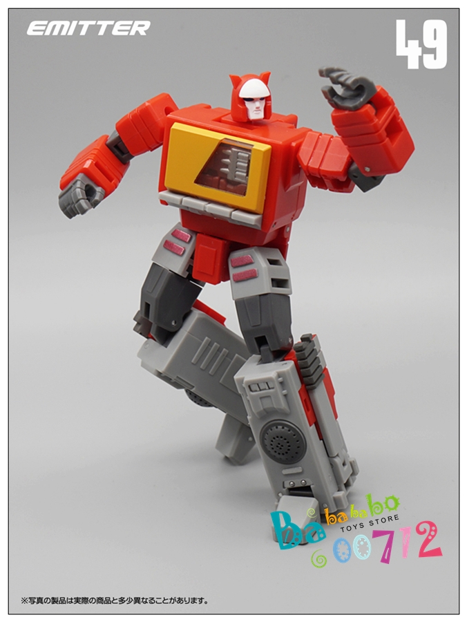 MFT MS19 FLAME COMMAN Rodimus Prime Transformation Action Figure Toy New
