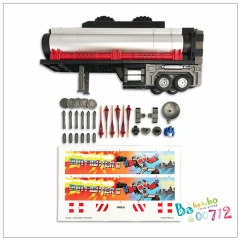 FansHobby MB-09B Trailer for MB-04 Gunfighter II Optimus Prime Transformers toy