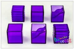 KFC KP-15P E-Nergeon Cube Purple Set of 6 kits for Transformers Toy MP Scales