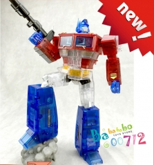 MS-TOYS MS-01T Light of Freedom Optimus prime Clear Version Transformers Toy will arrive