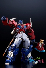 New Flame Toys Kuro Kara Kuri 04 Optimus Prime action figure toy instock
