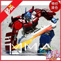 Movable & Metal Arts IDW Optimus Prime w/ Bike Action Figure Toy in stock