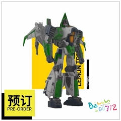 Pre-order Lemontreetoys LT-08 LT08 Pepper Blitzwing Green version Transformable Action figure Toy