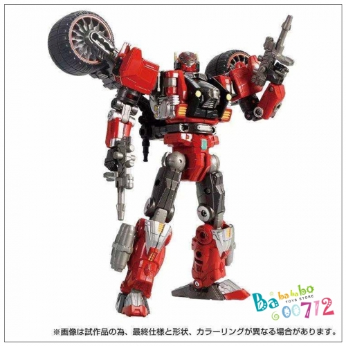 Diaclone Reboot DA-59 TRIVERS TRIRAMBLER ( RED CHASER) Action Figure Toy