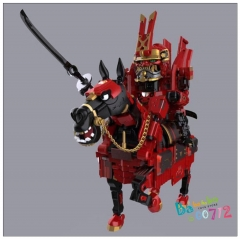 Pre-order Transformers Toy Toywolf TW RED BATHTUB HORSE Transformable Action figure Toy