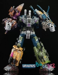 Transformers Warbotron WB01 Bruticus Gift Box  Action Figure