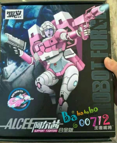 Transformers Toys Wei Jiang WJ Alcee  Arcee action Figure Toy in stock