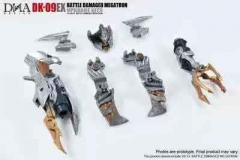 Pre-order  DNA Design DK-09EX  Upgrade Kit for SS-31 Battle Damaged Megatron