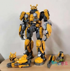 Lepin/66 Block Model No.663 Bumblebee Action Figure Toy
